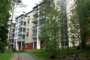 Service house Hopeakotka, Espoo