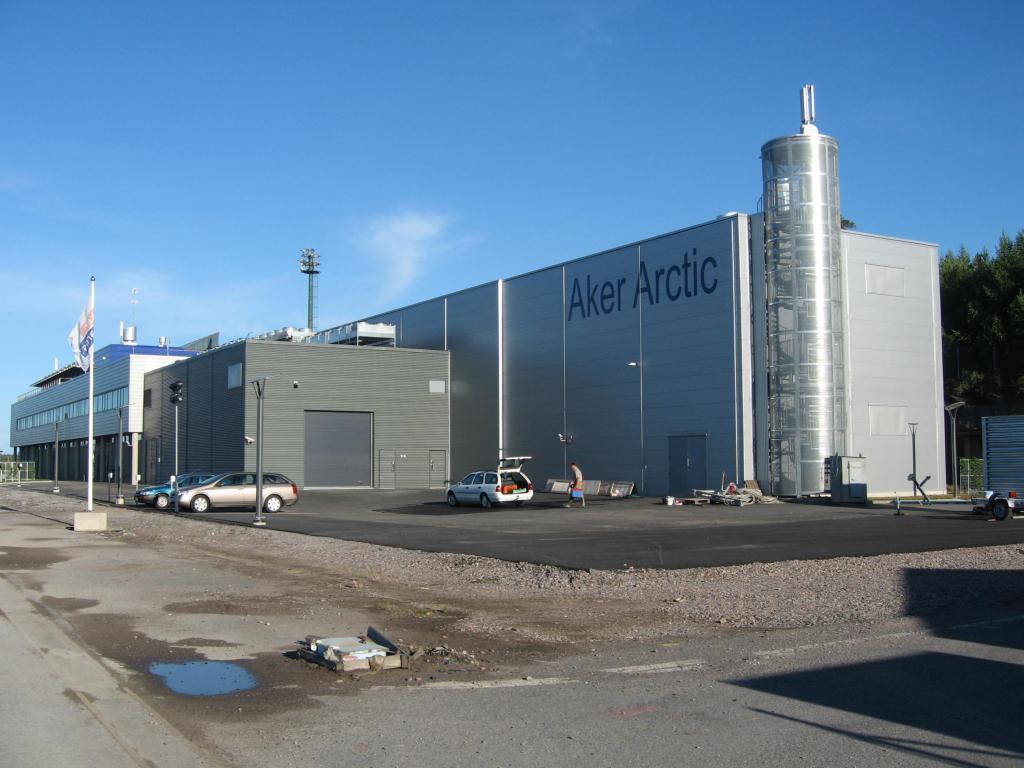 Aker Arctic Tehcnologies, Helsinki