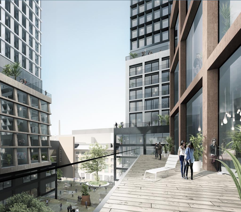 Development of Varma-Arabia city block, Helsinki