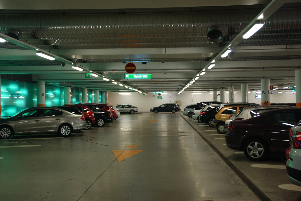 Tapionaukio parking facility, Espoo