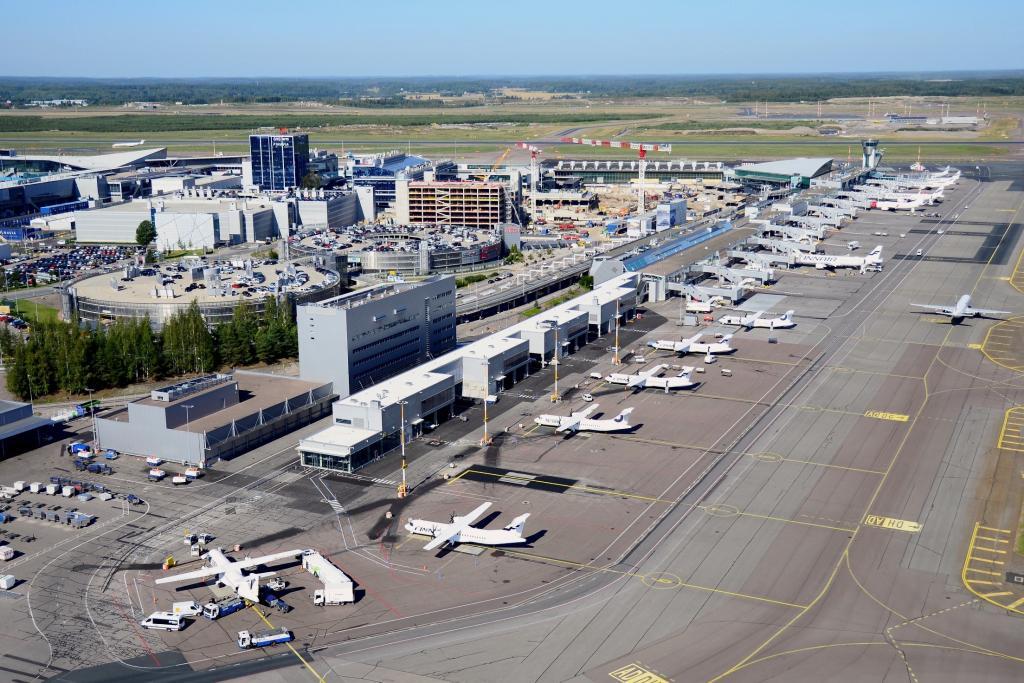Helsinki-Vantaa T1 terminal extension, Vantaa