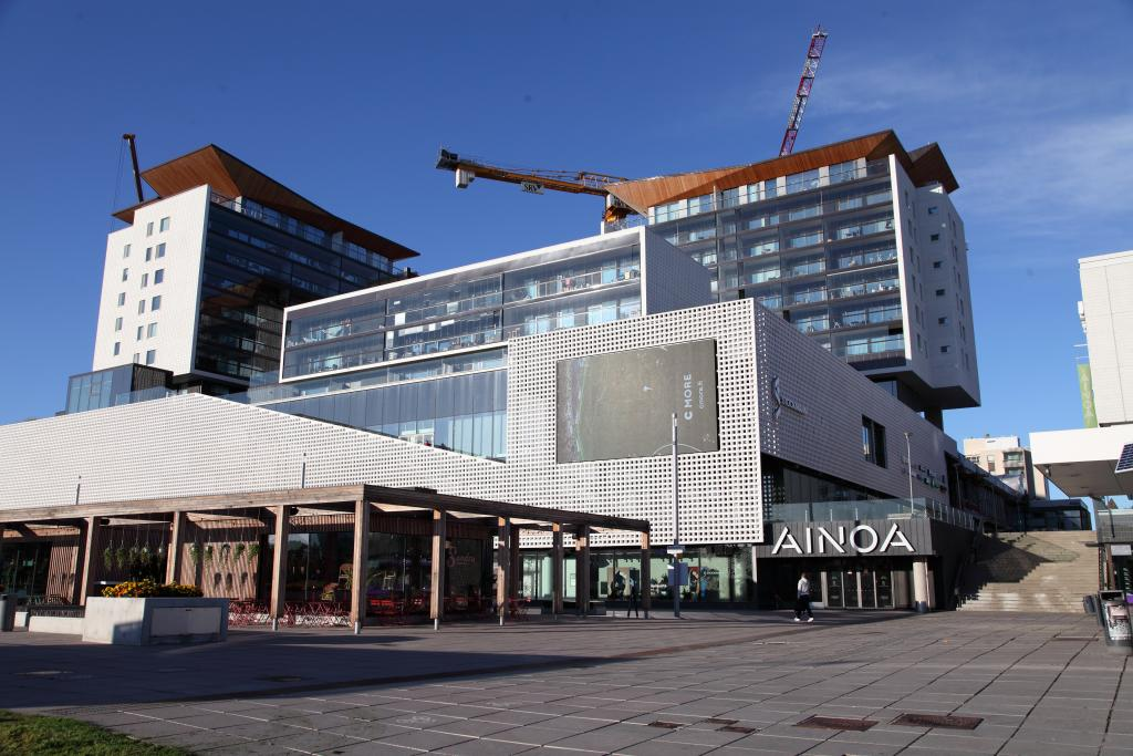 Development of Tapiola centre, Espoo